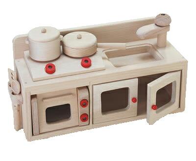 木のおもちゃ ミニキッチンセット 木製 おままごとセット 【あす楽対応】