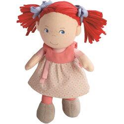 HABAハバ社布製缶入りドール赤毛のミリ女の子人形贈り物おままごとベビーキッズ