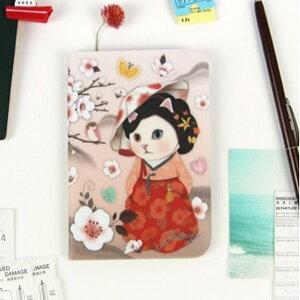 jetoy ジェトイ choochoo本舗 猫雑貨 猫のパスポートケース4 ミョンウォル ねこ ネコ 旅行 【あす楽対応】
