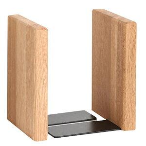 ブックエンド 本立て オーク ブックスタンド 木製 ラトレ latree FUN 天然木 シンプル おしゃれ インテリア
