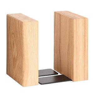 ブックエンド 本立て オーク ブックスタンド 木製 ラトレ latree FUN 天然木 シンプル おしゃれ インテリア 【あす楽対応】