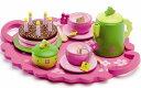 DJECO ジェコ バースデイティーパーティー カラフルでキュートなケーキおままごとセット 【あす楽対応】