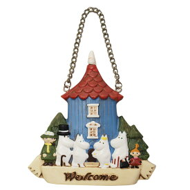 ムーミン ウェルカムボード ムーミン屋敷 玄関飾り インテリア雑貨