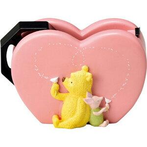 テープディスペンサー(Classic Pooh) テープカッター クラシック くまのプーさん セロテープ ディズニー キャラクター かわいい