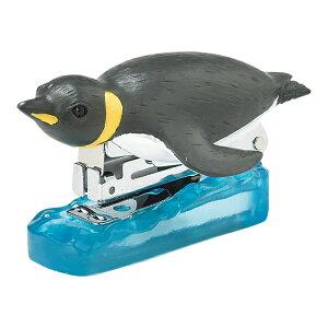 ステープラー(ペンギン) ホッチキス 海 生き物 モチーフ かわいい 文房具