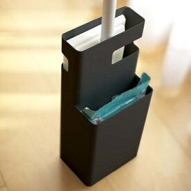 フローリングワイパースタンド デュオ ブラック 黒 おしゃれ収納 シンプル インテリア小物 リビング雑貨