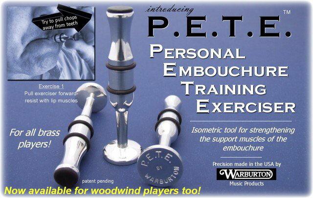 Warburton(ワーバートン) P.E.T.E.(ピート) PB01 金管用 銀メッキ