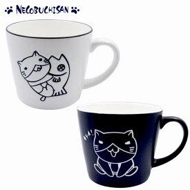 猫渕さん モノトーン マグカップ