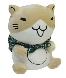 泥棒猫渕さん ぬいぐるみ 中サイズ 抱き枕