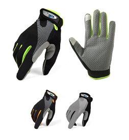 トレッキング グローブ 登山 手袋 サイクリング 通気性 伸縮素材 スマホ対応 春夏 クライミング ウォーキング 送料無料