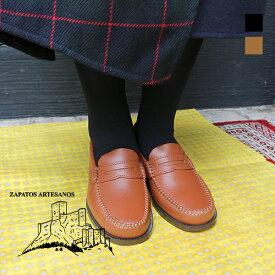 ARTESANOS 600-F アルテサノス ローファー 靴ground グラウンド 履きやすい 疲れにくい 痛くない 歩きやすい レディース ヒール 大人 スリッポン モカシンローファー カジュアルシューズ 2cmヒール レビューキャンペーン実施中