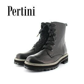 期間限定ポイント5倍2019秋冬 Pertini ペルティニ 192W16217 レースアップショートブーツ ブーティ— ショートブーツ マニッシュ シューズ ground 靴