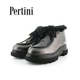 期間限定ポイント5倍2019秋冬 Pertini ペルティニ 192W16508 ボアショートブーツ シューズ ground 靴