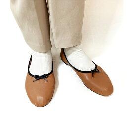 ATELIERBRUGGE アトリエブルージュ 1444 ボロネーゼ深バレエシューズ ブラック ブラウン ベージュレディース 痛くない フラット シューズ マニッシュ ぺたんこ パンプス ローヒール ground 靴レビューキャンペーン実施中