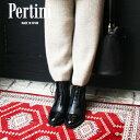 【セール】Pertiniペルティニ 202W30367 レースアップブーツ ブラック ground 靴 本革レビューキャンペーン実施中