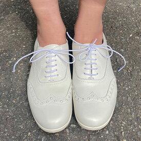 トラベルシューズバイショセTRAVEL SHOES by chausser TR-004 晴雨兼用ウィングチップレースアップシューズ マニッシュシューズ ホワイト ground 短靴 レインシューズレビューキャンペーン実施中
