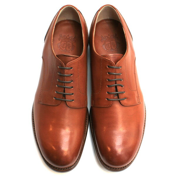 【送料無料】Men's chausser/ショセ C7013 短靴ドレスシューズブラウン|ground|靴