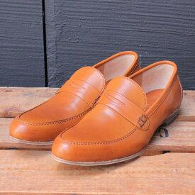 plus by chausser プリュスバイショセ PC-561 バンプコインローファー ブラウン シルバー ground 靴