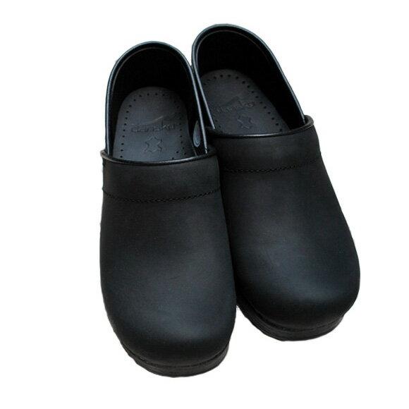 【予約】【2018年3月上旬入荷予定】【2018春夏】dansko/ダンスコ Professional Womans プロフェッショナル OILEDBLACK オイルドブラック 踵有りコンフォートクロッグスサボサンダル ground 靴 