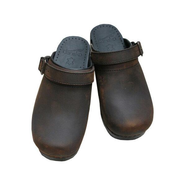 【送料無料】【2017秋冬】dansko/ダンスコ INGRID イングリッド OILED ANTIQUE BROWN オイルドアンティークブラウン コンフォート2WAYサボクロッグス ground 靴 