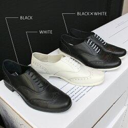 【送料無料】【2017春夏先行予約】TRAVELSHOESbychausser(トラベルシューズバイショセ)TR-004ウィングチップマニッシュシューズホワイト|ground|靴|