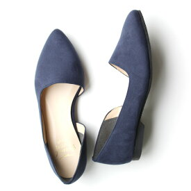 【SS40】groundgreenstoreグラウンドグリーンストア95116AWサイドオープンパンプスネイビーground靴 レビューキャンペーン実施中