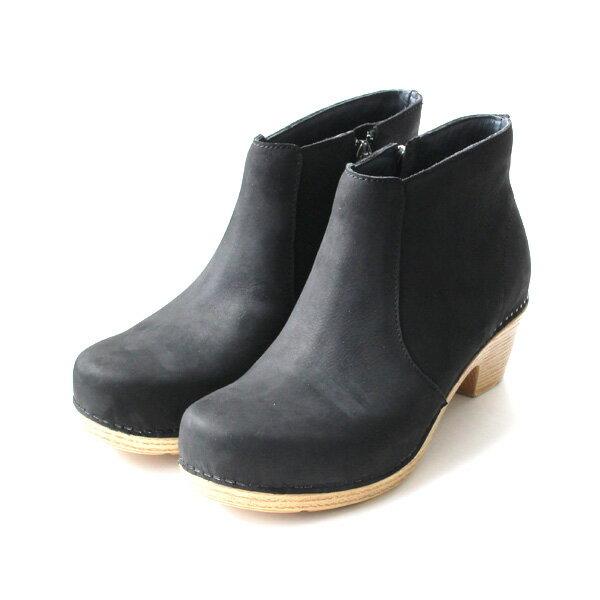 【送料無料】【2017秋冬】dansko/ダンスコ MARIA マリア サイドジップショートブーツ ブラック ground 靴 