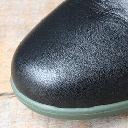 【予約】【9月下旬入荷予定】TRAVELSHOESbychausser(トラベルシューズバイショセ)TR-005晴雨兼用サイドゴアブーツブラック×カーキ|ground|靴|レイン|
