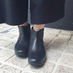 【2017春夏】TRAVELSHOESbychausser(トラベルシューズバイショセ)TR-005晴雨兼用サイドゴアブーツブラック|ground|靴|レイン|