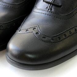 【送料無料】【2016秋冬予約】【8月中旬頃入荷予定】TRAVELSHOESbychausser(トラベルシューズバイショセ)TR-004ウィングチップマニッシュシューズブラック/ホワイト/ブラック×ホワイト|ground|靴|