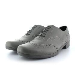 【2018春夏】TRAVELSHOESbychausser(トラベルシューズバイショセ)|TR-004|晴雨兼用ウィングチップレースアップシューズ|マニッシュシューズ|グレイ|ground|短靴|レインシューズ|