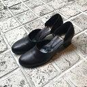 chausserショセC-2282パンプスレディース女性用セパレートパンプスブラックオケージョンground靴レザー レビューキャ…
