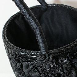 a-jolieアジョリーSI-1902かごバッグフラワーブラックオフホワイトホワイトカゴかごground鞄2019春夏