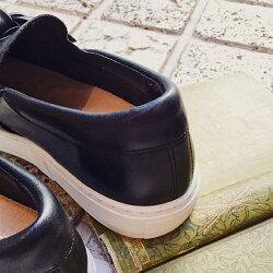 【2017秋冬】L'avenue/ラヴェニューZ512ツイストリボンスニーカーブラック|ground|靴|