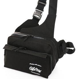 あす楽 フィッシングバッグ ワンショルダー + ウエストバッグOutport タックルバッグ 釣り BAG カバン 鞄 BASS バス エギング メバリング アジング 等に