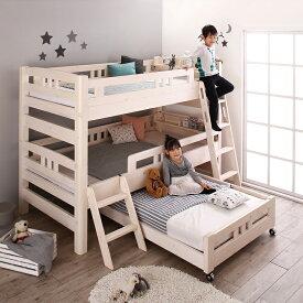 商品名| WHP 3段ベッド フレームのみモダンデザインサイズ| 幅105 長さ213 高さ150cmナチュラル分離式 三段ベッド大人も子供も長く使えるゲストハウス 民宿 民泊 社員宿舎 学生寮