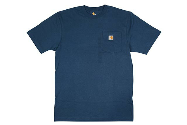 Carhartt WORKWEAR S/S POCKET T-SHIRTS(K87/984:STREAM BLUE)カーハート/ティーシャツ/ストリーム ブルー