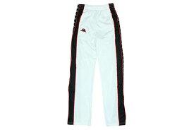 KAPPA BANDA BIG BAY TRACK PANTS(WHITE-BLACK-RED)カッパ/ジャージパンツ/ホワイト×ブラック×レッド