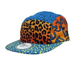 NEW ERA 5PANEL CAP(BLUE×ORANGE×YELLOW)ニューエラ/ファイブパネルキャップ/ブルー×オレンジ×イエロー