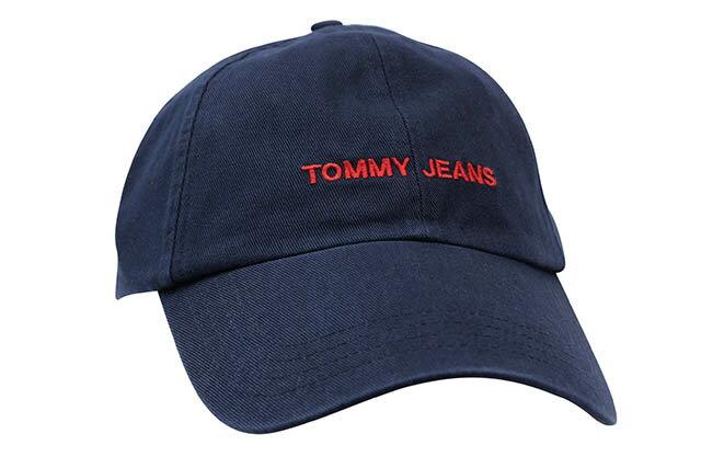 TOMMY JEANS TWILL CAP(NAVY)トミー ジーンズ/ツイルキャップ/ダドキャップ/ネイビー