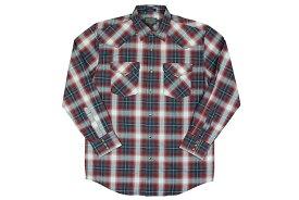 PENDLETON L/S CHECK SHIRTS(DA029-65433)(NAVY×RED×WHITE)ペンドルトン/ロングスリーブチェックシャツ/ネイビー×レッド×ホワイト