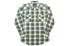 PENDLETON L/S CHECK SHIRTS(DA029-65432)(YELLOW×BLUE×WHITE)ペンドルトン/ロングスリーブチェックシャツ/イエロー×ブルー×ホワイト