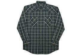 PENDLETON L/S CHECK SHIRTS(DA029-65437)(BLACK×CHARCOAL×WHITE)ペンドルトン/ロングスリーブチェックシャツ/ブラック×チャコール×ホワイト