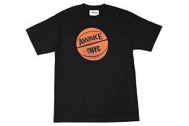 AWAKE NY HOOP T-SHIRTS(BLACK)アウェイクニューヨーク/ティーシャツ/ブラック