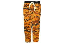 mnml CARGO DRAWCORD PANTS (P301/ORN:ORANGE CAMO)ミニマル/カーゴパンツ/オレンジカモ