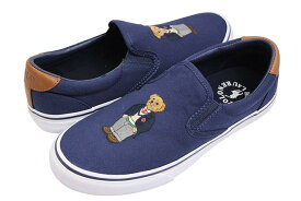 POLO RALPH LAUREN THOMPSON POLO BEAR SNEAKER (816745841001:NAVY)ポロラルフローレン/スニーカー/ネイビー