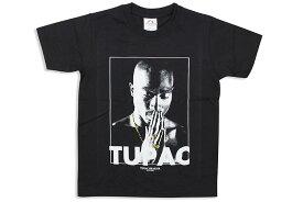 2PAC PHOTO KID'S T-SHIRT (BLACK)トゥーパック/ショートスリーブティーシャツ/ブラック/キッズサイズ