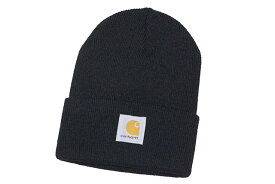 Carhartt ACRYLIC WATCH HAT (A18:BLACK)カーハート/ニットキャップ/ブラック
