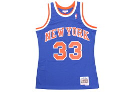 MITCHELL&NESS PATRICK EWING SWINGMAN JERSEY(NEW YORK KNICKS/1991-92/BLUE)ミッチェル&ネス/バスケットボールジャージ/ブルー
