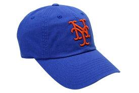 ee9ae181063 AMERICAN NEEDLE BALLPARK CAP (MLB NEW YORK METS  BLUE×ORANGE)アメリカン